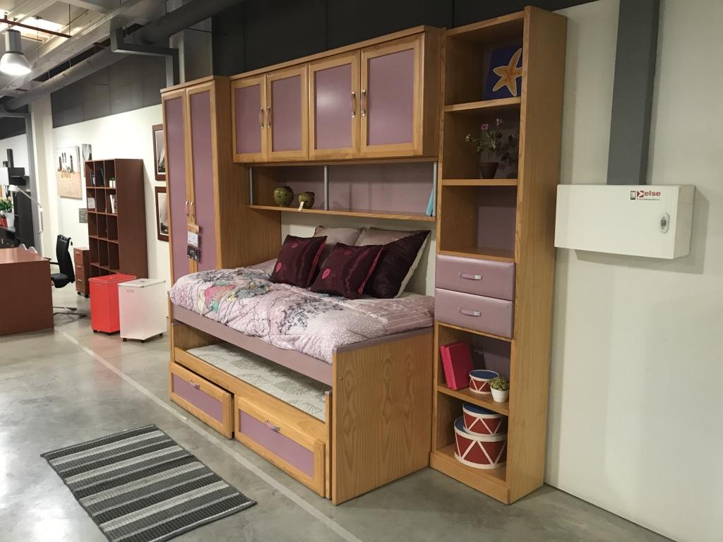 Dormitorio juvenil nido puente muebles romerohogar for Puente nido juvenil