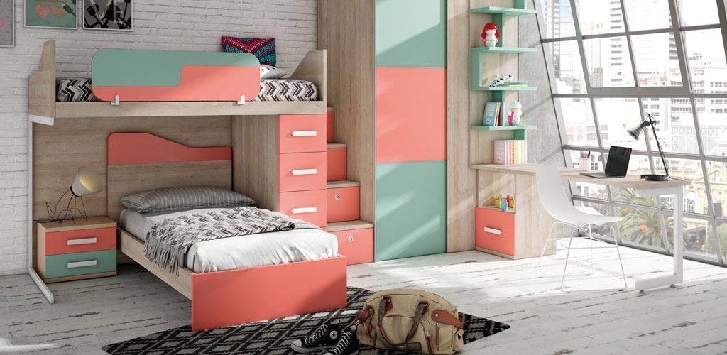 C mo organizar la habitaci n de los ni os muebles - Organizar habitacion ninos ...