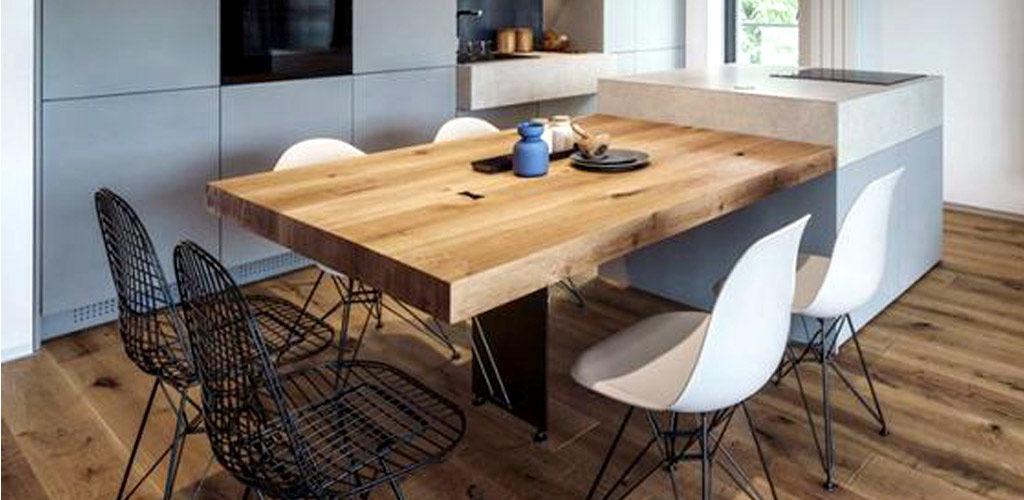 Tipos de mesas de cocina y sus características - Muebles Romerohogar