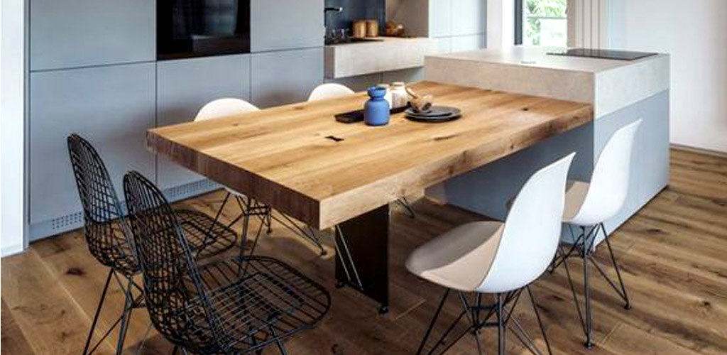 Tipos de mesas de cocina y sus características