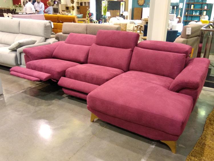 ¿Cómo elegir el sofá perfecto? Sofá con posibilidades ergonómicas.