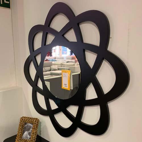 Mueble recibidor + marco espejo 100cm
