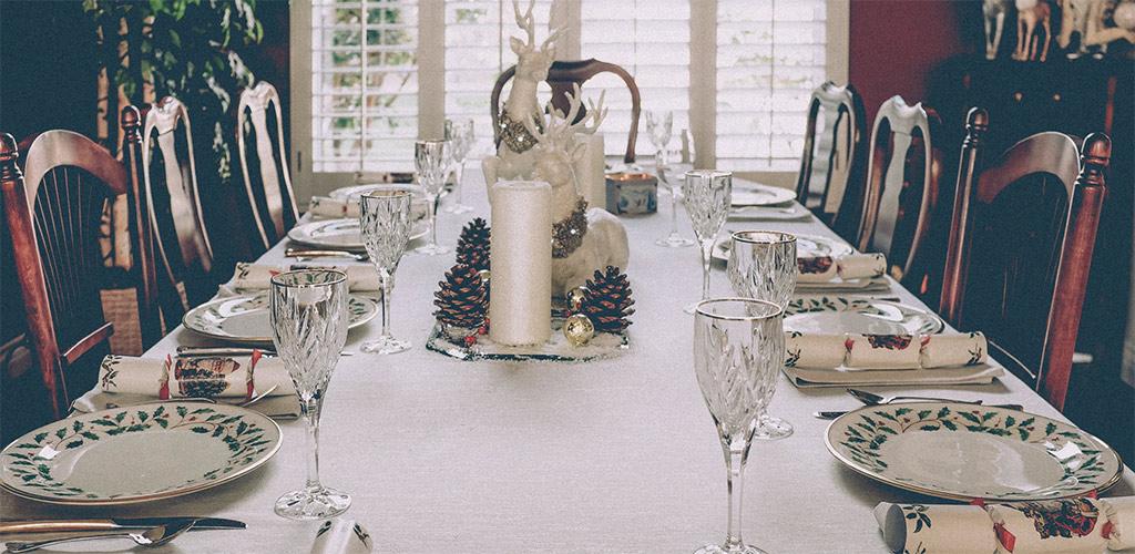 Elegir la mesa de comedor perfecta para Navidad