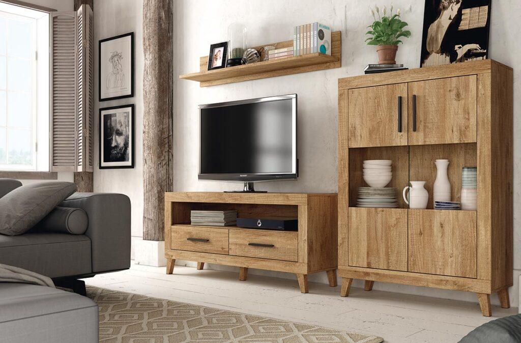 Composición modular de estilo moderno. Muebles romerohogar