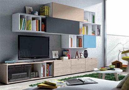 Moderno salón modular