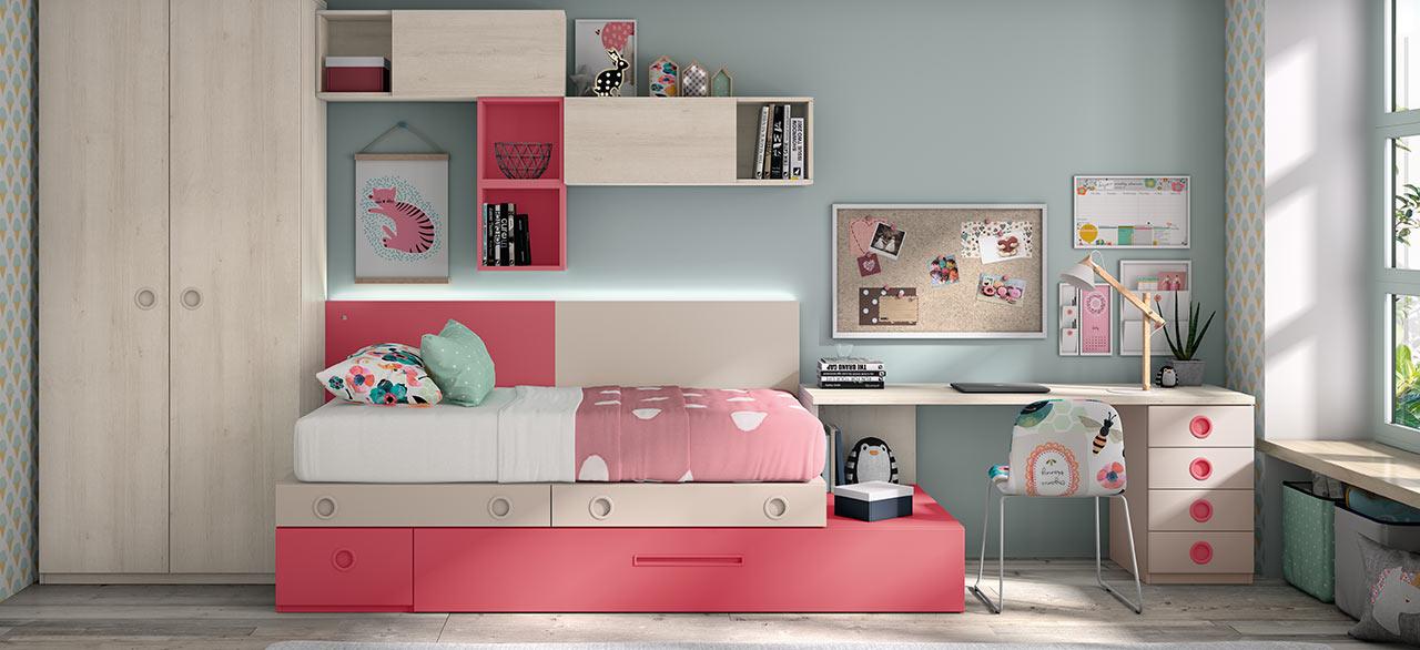Dormitorios juveniles: renovarlos con acierto