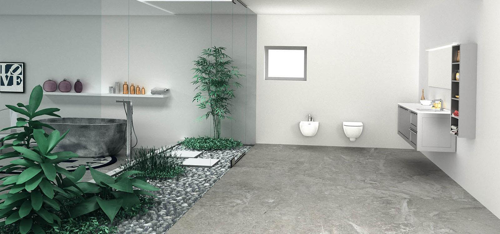 Baño modelo URA
