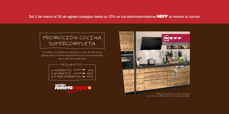 Promoción electrodomésticos Neff