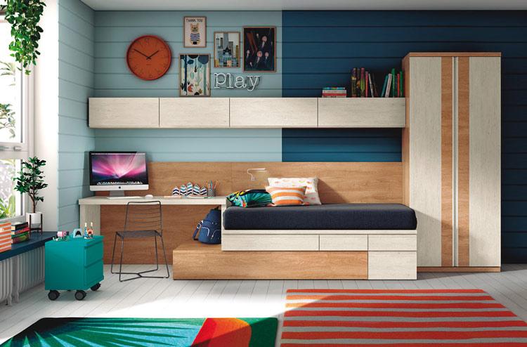 Moderno conjunto de muebles para dormitorio