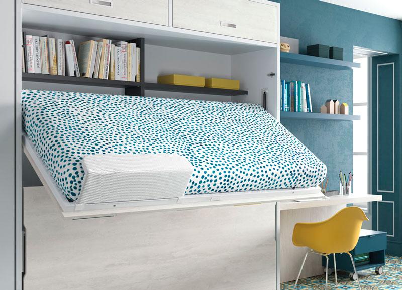Detalle de Dormitorio Juvenil con literas