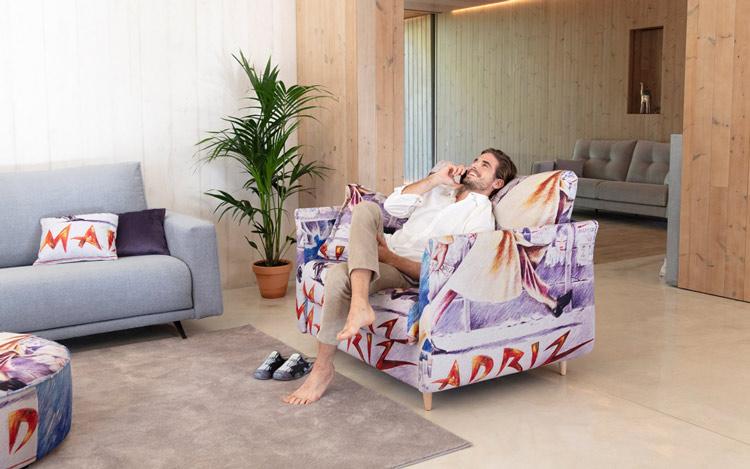 Sofá Fama Helsinki, nuevo sillón con mecanismo cama.