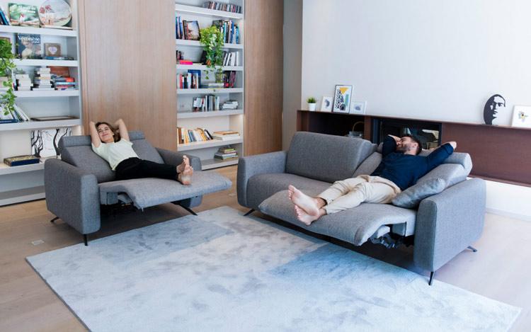 El sofá Atlanta forma parte del nuevo programa modular relax de Fama Sofas: ATLANTA&BALTIA.