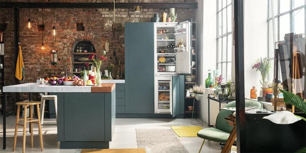 Electrodomésticos eficientes en las modernas cocinas.