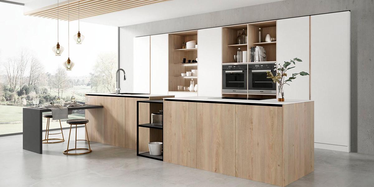 Cocinas eficientes con electrodomésticos que ahorran